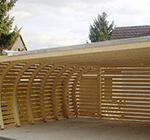 Carport Design Holz