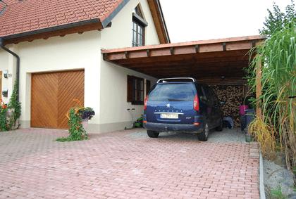 Flachdach carport auf caport bauen.net