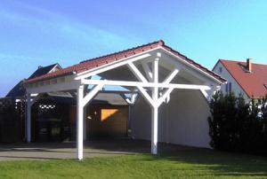 Satteldach Carport Bausatz