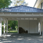 carport mit schuppen carport. Black Bedroom Furniture Sets. Home Design Ideas