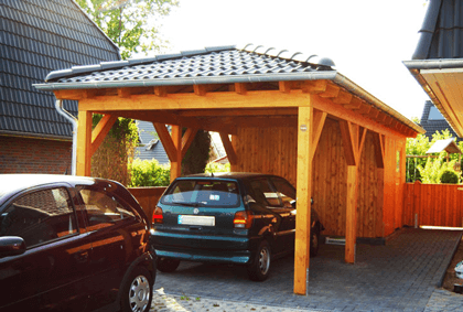 walmdach carport auf carport. Black Bedroom Furniture Sets. Home Design Ideas