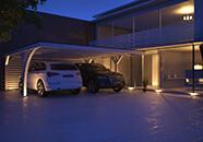 Carport Beleuchtung Solar